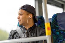 Fler än åtta av tio resenärer tycker det är tryggt att resa med Länstrafiken