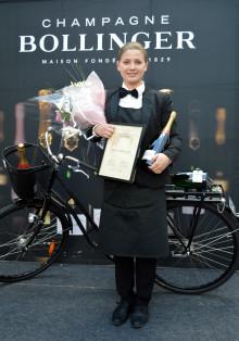 Sofia Castensson blev Sveriges bästa kvinnliga sommelière