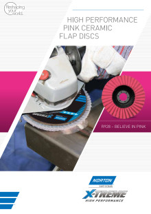 Norton XTREME R928 flap discs - Brochure