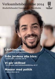 Verksamhetsberättelse 2014 - Studieförbundet Vuxenskolan Stockholm