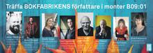 Möt några av Bokfabrikens fantastiska författare på bokmässan i Göteborg!
