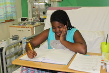 Thirteen year old aspiring midwife is poetry hopeful at BCH