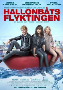 K-rauta i samarbete med Nordisk Film inför lanseringen av Hallonbåtsflyktingen
