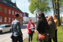 Parker och (ful?) arkitektur - årets stadsvandringar i Nyköping