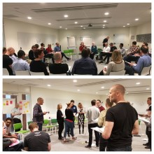 "Citerus hosts ""Coaching Beyond the Team"" workshop in Stockholm 2018"