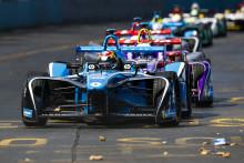Renault e.dams på tredje plats i Santiagos ePrix