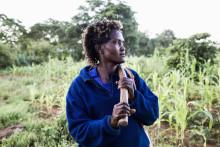 """Fotoutställning - Från fattigdom till eget företag , """"I am a business woman"""""""