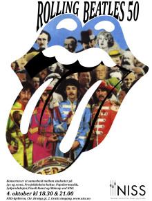 Årets første konsert på NISS: Rolling Beatles 50