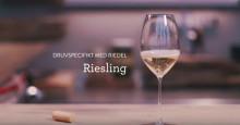 Druvspecifikt med Riedel - Riesling