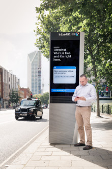 Southwark switches on free ultrafast Wi-Fi, phone calls and mobile charging