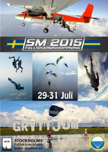 Svenska Mästerskapen i Fallskärmshoppning 2015