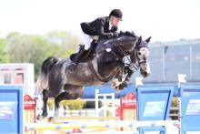 Henrik Tapper och Hippson-hästen Ariso är kvalade till finalen av LFC Jumping Unga Hästar