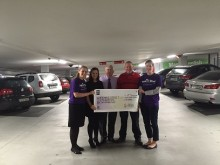 Over €25,000 raised for Children's Hospital Charity through parking parternship