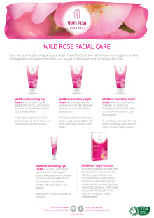 Samlingsblad Wild Rose Facial Care