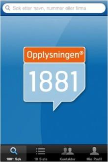 Suksessfull applikasjon fra 1881!