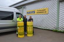 Reportage: ISOVERs CR-matta monteras snabbt och smidigt på cisterner