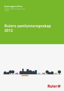 Ruter samfunnsregnskap 2012