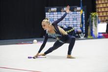 Cassandra Pettersson svensk mästarinna i rytmisk gymnastik 2018