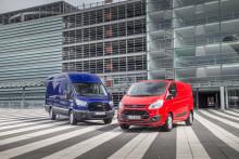 Ford pakettiautojen ykkönen Suomessa vuonna 2016