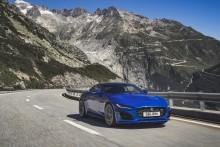 Nya Jaguar F-TYPE imponerar
