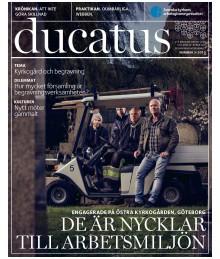 Nytt nummer av Ducatus: Svenska kyrkan och begravningsverksamheten