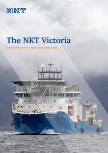 Brosjyre kabelleggingsfartøyet NKT Victoria