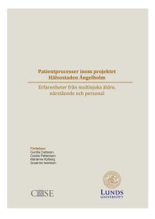 Patientprocesser inom projektet Hälsostaden Ängelholm