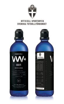 Vitamin Well+ officiell sportdryck för Svenska Fotboll-förbundet (SvFF)