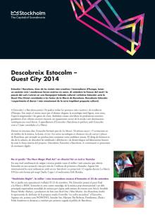 La Mercè: Descobreix Estocolm a Barcelona