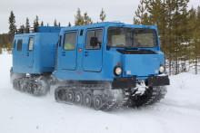 Lyckad produktlansering av bandvagnstillverkaren STVs nya drivlina!