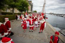 Julemandstræf og parade i Kbh - se billederne