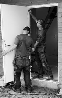 Tips från Woody Bygghandel inför valet av ytterdörr!