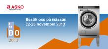 Besök ASKO Professional på BostadsrättsMässan i Stockholm 22-23 november 2013