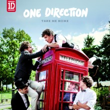 "One Direction avslöjar omslaget till nya albumet ""Take Me Home"""