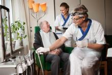 Folktandvården vill bli ledande inom äldretandvård