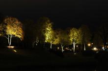 Liljeholmsparken i nytt ljus för en kväll