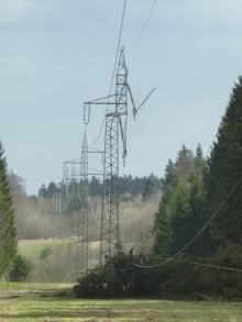 Presseinformation Stand 16:00 Uhr - Sturm und Orkanböen führen zu zahlreichen Unterbrechungen der Stromversorgung – Bayernwerk mit ganzer Mannschaft im Einsatz