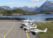 Flere småflyturister til Norge