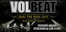 Volbeat till Friends Arena!