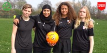 Satellite Club funding helps AFC Leyton Girls become confident citizens