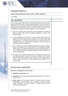 IDC Report
