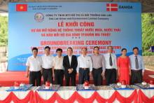 Første spadestik taget på udbedring af Buan Ma Thuot's sanitære infrastruktur