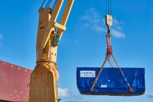 Finspångsturbiner påbörjar sin resa från Norrköpings hamn till Bolivia