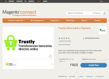 Trustly's Direct Payment now available for Spanish e-shoppers who use Magento
