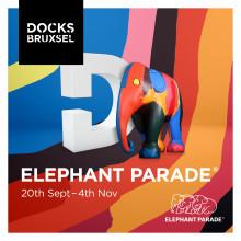 Docks Bruxsel to host international Elephant Parade art exhibition