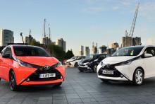 Sverigepremiär för nya Toyota Aygo