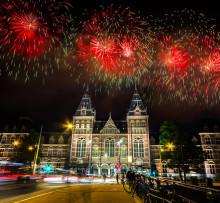 Amsterdam är den stora raketen på nyår