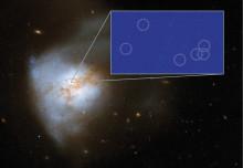 Astronomer avslöjar supernovafabrik
