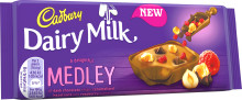 New luxurious Cadbury Dairy Milk Medley