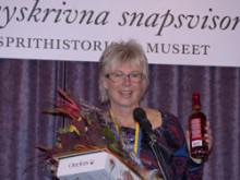 Annika Rymark årets svenska mästare i nyskrivna snapsvisor